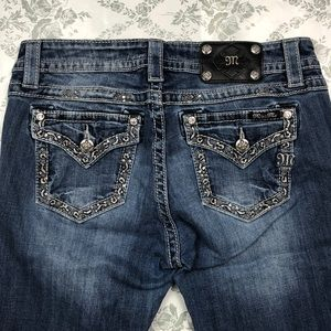 Miss me jeans sz 30 x 34 relaxed boot